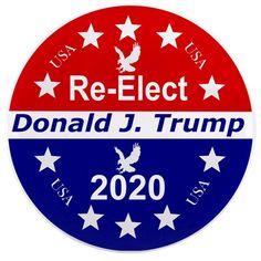 """BUMPER Magnet VETERANS FOR  Trump   3.5/"""" x 6/"""" green"""