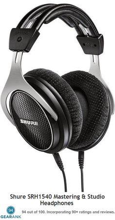 15874beed9c Shure SRH1540 Mastering & Studio Headphones - the highest rated  Closed-Back Headphones under