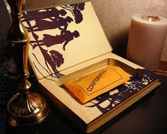 Hollow Book Safe (1930 NANCY DREW The Secret of the Old Clock)
