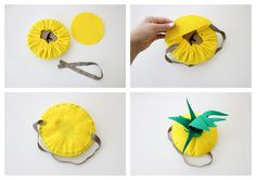 No Sew Pineapple Halloween Costume