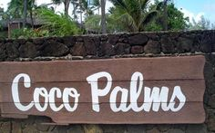 Coco Palms Resort Kauai Sad Seeing It So Derelict After Hurricane Iniki Hit In The 90 S
