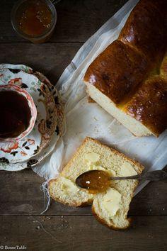 Pan mermelada y manteca