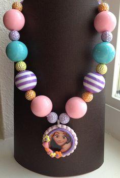 Tangled BubbleGum Necklace