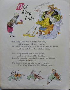 DESING HILDA BOSWELL Nursery Rhymes Poems, Rhymes Songs, Childhood Poem, Nursery Rymes, Poetry For Kids, Pomes, Kids Poems, Rhymes For Kids, Vintage Nursery