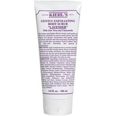 I mix this in with my soap on a puff sponge, it really works!!  Kiehls Since 1851 Gently Exfoliating Body Scrub - Lavender
