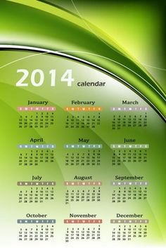 Natural Calendar 2014