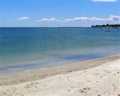 Rocky Neck State Park, CT. Used to go to this beach a lot when I was a kid.  (with parents of course)