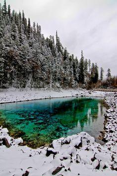 Travel Asian Jiuzhaigou #snow #winter #China