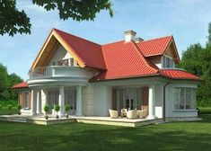 New apartment modern exterior house plans Ideas House Design Pictures, Small House Design, Modern House Design, Bungalow Style House, Bungalow Haus Design, Bedroom House Plans, Dream House Plans, Dream Houses, Style At Home