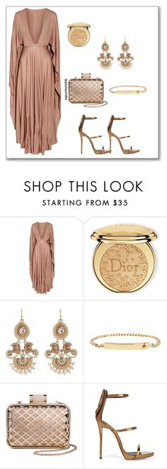 """""""Glamourous Gold"""" by emmachaks ❤ liked on Polyvore featuring Valentino, Christian Dior, Kenneth Jay Lane, A.P.C., Tevolio, Giuseppe Zanotti, glitter, WhatToWear, polyvorecommunity and polyvoreeditorial"""