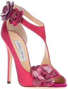 Tendance Chaussures Jimmy Choo Pink Vera Sandal