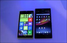 Video – 'Nokia Lumia 1520′ compared with 'Sony Xperia Z Ultra'