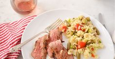 Bloody Mary Steak + Garnish Salad | Weeknight Society