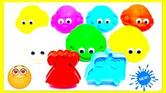 Learn English Colors for Kids With Play-Doh DIY Turtles - Finger Family Song Nursery Rhymes