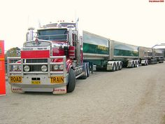 Australian Road Trains: Aussie Trucker Kertoo Real Story