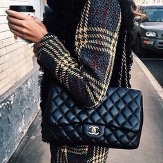 // Pinterest @esib123 //  #purses chanel quilted