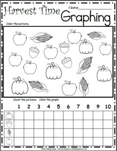 Free Kindergarten Letter Writing Worksheet for Fall Apples - Madebyteachers