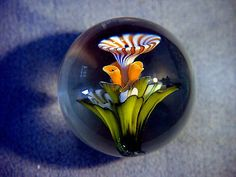 JHA-2015-handmade-boro-art-glass-Flower-marble-by-John-Alstrup