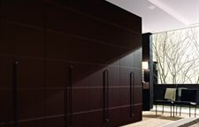 Engraved Leather Doors