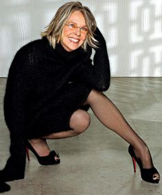 Diane Keaton is 65 years old.... just sayin'....
