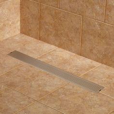 Carmen Linear Shower Drain - Shower Drains - Drains and Water Supplies - Bathroom