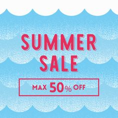 【7/1スタート】 SUMMER SALE 2016 Email Marketing Design, Email Design, Web Design, Graphic Design, Dm Poster, Summer Banner, Shots Ideas, Flat Design Illustration, Summer Events