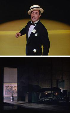 Gene Kelly's wardrobe in Singin' in the Rain. Legendary.