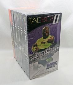 a06dcec45b24 6 Taebo Billy Banks VHS Sealed New Exercise Get Ripped Basic Workout +  Impact