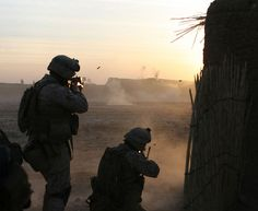 Marines with Alpha Company, Battalion, Marine Regiment open fire on enemy insurgents taking cover in an abandoned compound, during a firefight in Helmand province, Afghanistan. Trust And Loyalty, Afghanistan War, Oral History, Open Fires, Us Marines, Insurgent, Marine Corps, Usmc, Troops