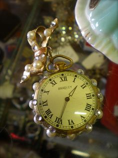 Vintage watch pin