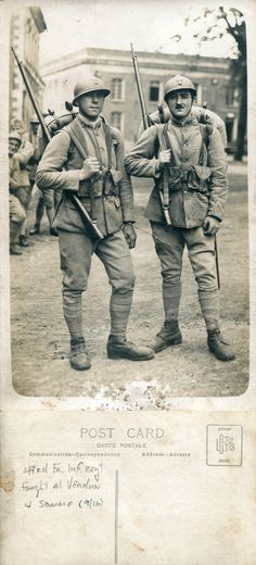 Soldiers from 43rd Fr Inf Regt, Verdun