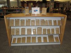 Stuck on what to read? Pick up a book wrapped in brown paper at the Kirkwood main campus library's Blind Date with a Book kiosk! (Now through Feb. 14)