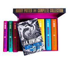 Harry Potter | Harry Potter Boxed Set: Adult Hardback Edition by J.K. Rowling - Andrew Davidson