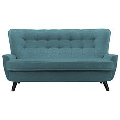 G Plan Vintage The Sixty One Large Sofa. Curvy, Tufted Single Cushion  Delight.