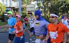 Gold Coast Airport Marathon - Batman and friends!
