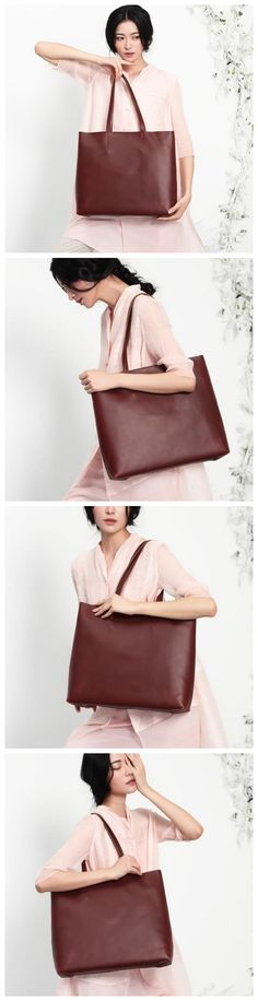 Handcrafted Modern Fashion Women Tote Shopper Bag Shoulder Bag Handbag 14145