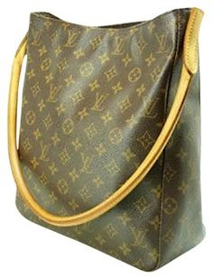 Louis Vuitton Pre-owned Lv Monogram Looping Gm M51145 Nr Popular Item! Tote ! Clean!! Shoulder Bag $803