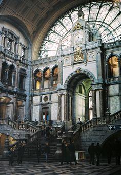 Antwerp Central #Train Station http://www.amazon.com/Take-Me-Home-Sheila-Blanchette-ebook/dp/B00HRFZ8GC/ref=sr_1_7?s=digital-text&ie=UTF8&qid=1400033738&sr=1-7&keywords=take+me+home