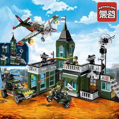 34.31$  Watch now - https://alitems.com/g/1e8d114494b01f4c715516525dc3e8/?i=5&ulp=https%3A%2F%2Fwww.aliexpress.com%2Fitem%2FEnlighten-Military-Series-Combat-Zone-Bomb-Headquarters-Minifigures-Building-Block-Compatible-With-Legoe-Bricks-Kids-Toys%2F32787520278.html - Enlighten Military Series Combat Zone Bomb Headquarters Mini Figures Building Block Compatible With Lepin Bricks Kids Toys Gifts