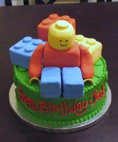 childrens birthday - lego cakes