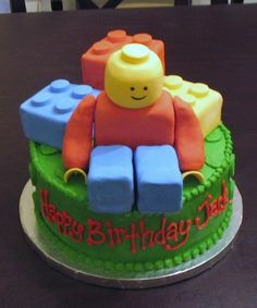 childrens birthday - lego cakes