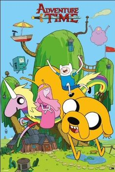 Adventure Time (House) - Maxi Poster - 61cm x 91.5cm, http://www.amazon.co.uk/dp/B009TPYQGG/ref=cm_sw_r_pi_awdl_XSKstb0JZETX3