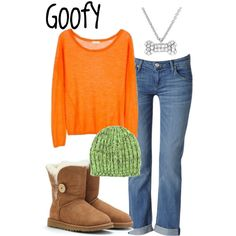 """Goofy"" by sydney-emerson on Polyvore"