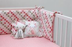Funky Nursery for gorgeous nursery furniture, nursery cot bedding and nursery decoration, cots, cot beds and baby bedding, nursery decoration and stylish highchairs Cot Bumper Sets, Baby Bumper, Crib Sets, Bedding Sets, Room Furniture Design, Kids Room Furniture, Nursery Bedding, Nursery Decor, Cat Cushion