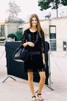 Paris Fashion Week SS 2014....Ophelie