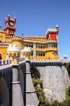 Visit Pena Palace in Sintra   Portugal