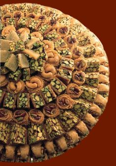 pastries tray  #syrian #dessert #sweet