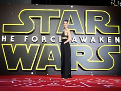 """Actress Daisy Ridley attends the European Premiere of """"Star Wars: The Force Awakens"""" at Leicester Square on Dec. 16, 2015 in London.   WireImage"""
