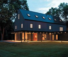 house in Kobierzyce - Pracownia KameleonLab | architecture ... on pole barn design plans, metal home projects, metal interior design, metal roofing plans, metal office plans, metal sculpture plans, metal home kitchen, metal home furniture, metal home models, metal home blueprints, metal health plans, horse barn design plans,