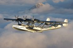 Dornier Flying Boat...@ 1st mistook this for a PBY.  Thankfully I was set straight by a fellow Pinner.